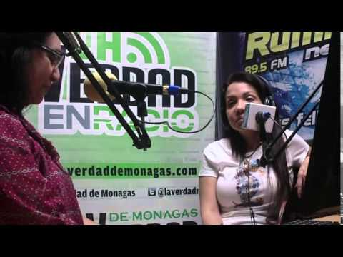 Entrevista a Sandra Alfaro en La Verdad en Radio