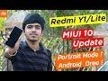 Redmi Y1 n Redmi Y1 Lite MIUI 10 Update | Android 81 Oreo Update | Portrait Mode