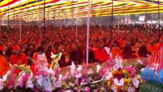 Nishita Barua Singing Buddhist Song 2013