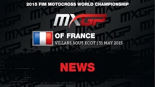 Villars France  City pictures : MXGP of France News Highlights 2015