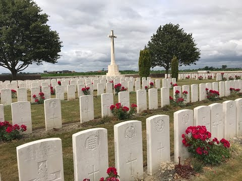 Visiting the WW1 Graves in Belgium