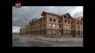 В микрорайоне «Аркажская слобода» завершилось строительство первых 4 домов