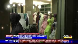 Tarawih Perdana, 2 Masjid Makassar Dipadati Jemaah