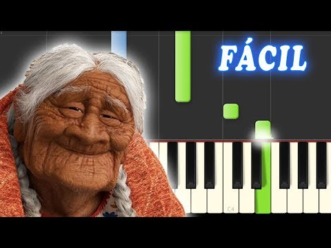 Recuerdame / Coco / FACIL / Piano Tutorial