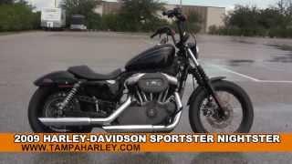 9. 2009 Harley Davidson Sportster Nightster - Used Motorcycles for sale