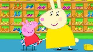 Peppa Pig en Español Episodios completos 👠 A Peppa le encanta ir de compras | Pepa la cerdita