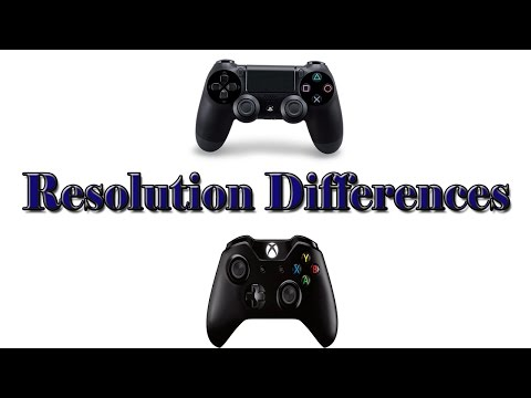 Resolution Differences Between the Xbox One and Playstation 4