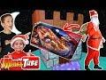 Papa Noel se descuida un Regalo de Navidad ! Circuito Cars 3