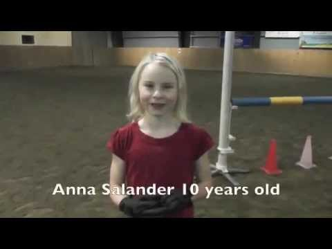 TenYearOld Girl Jumps Like a Horse
