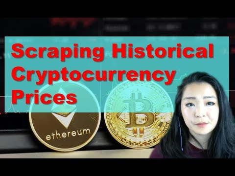 Scraping Historical Cryptocurrency Prices [Python Beautiful Soup & Selenium Tutorial]