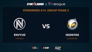 EnVyUs vs Dignitas, game 1