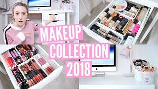Video MAKEUP COLLECTION & STORAGE 2018 | Sophie Louise MP3, 3GP, MP4, WEBM, AVI, FLV Juli 2018