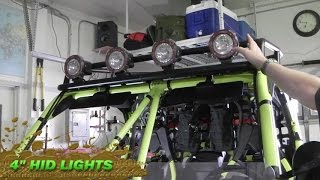 9. CAN-AM Maverick Turbo Build – Part 6 Lighting