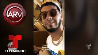 Karol G celebra por lo alto el cumpleaños de Anuel AA | Al Rojo Vivo | Telemundo