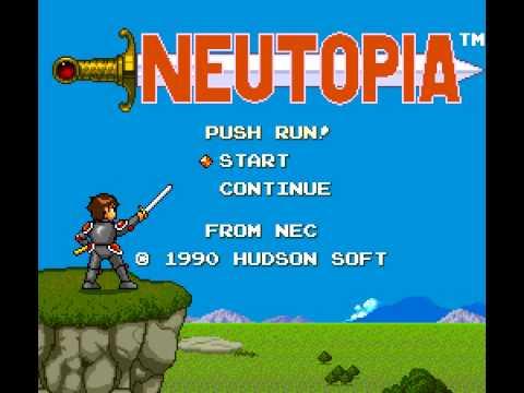 neutopia 2 pc engine