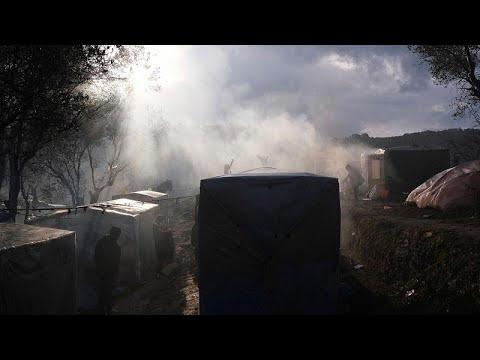 Ένα παιδί νεκρό σε φωτιά στη Μόρια