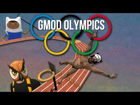 The (Not So) Official Garry's Mod Olympics! - GMOD DEATH RUN FUNNY MOMENTS (видео)