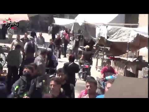 ريف دمشق يلدا مظاهرة تطالب بتوحيد الفصائل العسكرية في جنوب دمشق