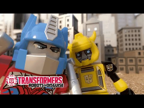 KRE-O Transformers - 'Take Us Through the Movies' Original Short | Transformers Official