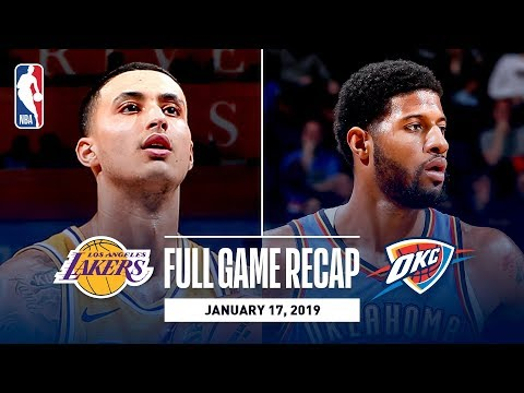 Video: Full Game Recap: Lakers vs Thunder | Kuzma Goes Off For 32 Points