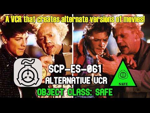 SCP-ES-061 Alternative VCR | Object Class: Safe | Spanish / International SCP