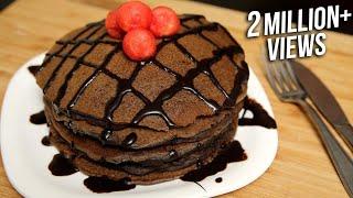 Chocolate Pancake Recipe | Eggless Pancake Recipe | Ruchi's Kitchen