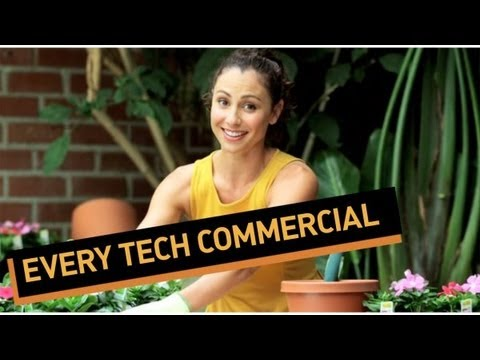 tech - Technology commercials need an upgrade. See more http://www.collegehumor.com LIKE us on: http://www.facebook.com/collegehumor FOLLOW us on: http://www.twitte...