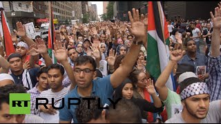 Raw: Pro-Gaza Protests Sweep US, Germany, Portugal&UK