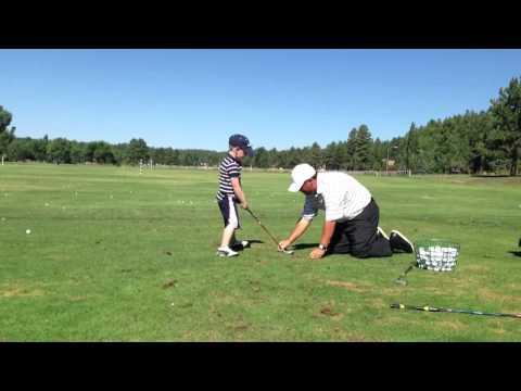 Julian's golf lesson