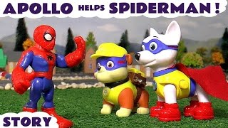 Apollo Helps Spiderman