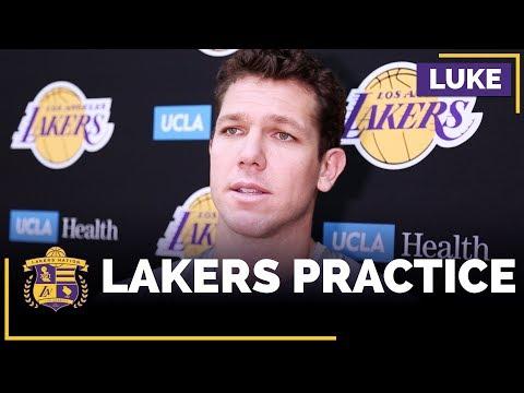 Video: Luke Walton On Julius Randle, Lonzo Ball's Rebounding, Corey Brewer