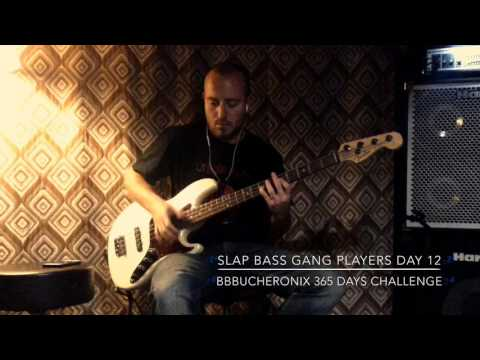 Slap Bass Gang Players Day 12
