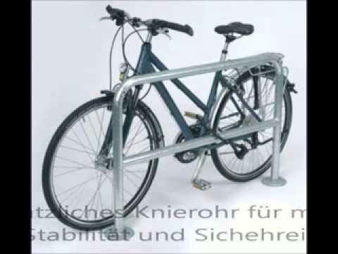 Fahrradständer von fahrradstaender-onlineshop.de - Anlehnbügel Modellreihe 9300 für Fahrräder