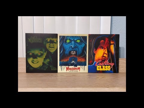 Mausoleum, Cutting Class & The Children Blu-Ray Unboxing (Black Friday) - Vinegar Syndrome