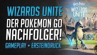 Lohnt der Pokemon Go Nachfolger? | Ersteindruck zu Harry Potter Wizards Unite • Wizards Unite