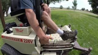 3. Grasshopper 226V Zero Turn Mower