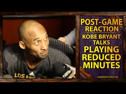 Video: Kobe Bryant On New Minute Restrictions And Trusting Byron Scott 'Implicitly'