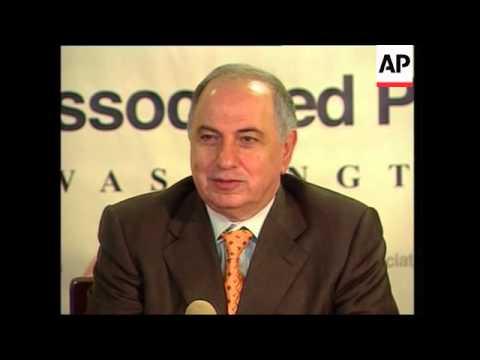 Iraqi governing council president says Saddam was pursuing WMD