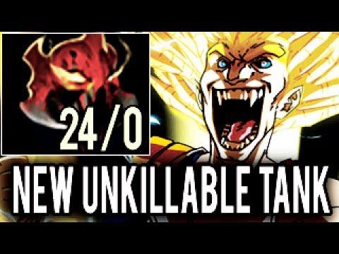 WTF NEW UNKILLABLE MADNESS TANK! SumIYa Plays Invoker - Dota 2