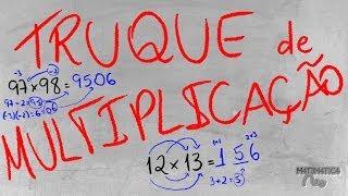 Video TRUQUE: Como Multiplicar Números com 2 Algarismos MUITO RÁPIDO | Matemática Rio MP3, 3GP, MP4, WEBM, AVI, FLV Juli 2017