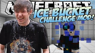 Minecraft | ICE BUCKET CHALLENGE MOD! (ALS Charity!) | Mod Showcase