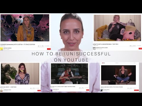 HOW TO BE (UN)SUCCESSFUL ON YOUTUBE (#NextUp 2018)