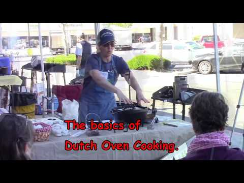 Dutch Oven Cooking Class May 2017