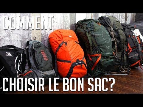 Comment choisir le bon sac à dos?