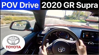 [ASMR] 2020 Toyota GR Supra 3.0 Premium POV Drive (No Talking) by MilesPerHr