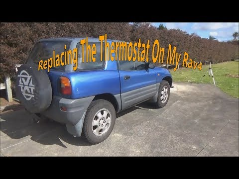 Replacing The Thermostat On My Toyota Rav4