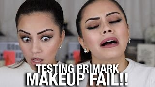 Video TESTING PRIMARK MAKEUP... FAIL !? MP3, 3GP, MP4, WEBM, AVI, FLV Juli 2018