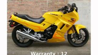 8. 2006 Kawasaki Ninja 250R Specification [techracers]