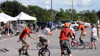 Unicycle Football