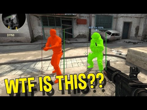 CS:GO WTF IS THIS AIMBOT? (FUNNY MOMENTS OVERWATCH) (видео)
